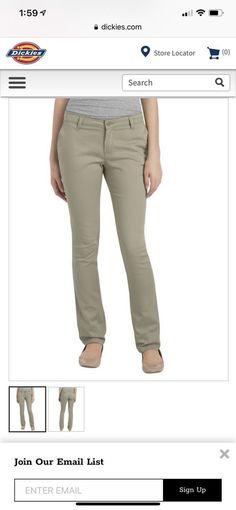 a8aab9de9b7 Juniors  Schoolwear Classic Fit Straight Leg Stretch Twill Pants Desert  Khaki  fashion  clothing