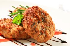 Karfiolové karbonátky s údeným mäsom