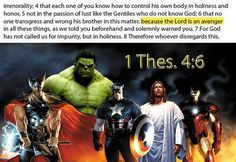Christian Memes - the Lord is an Avenger!