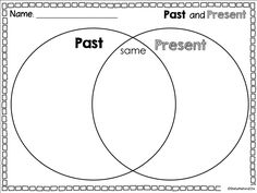 This interactive venn diagram worksheet is perfect for visually past and present venn diagram ccuart Gallery