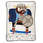 Viking Skateboard Pillow by Colin Walsh for Land of Nod