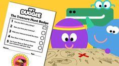 Hey Duggee - The Treasure Hunt Badge Activity Sheet