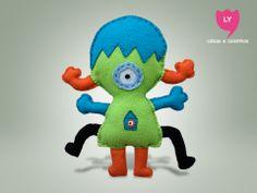 O desenho do seu filho pode virar um boneco! #monstrinho #pedido #lycoisasecoisinhas