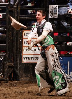 Most people don't know this about me but I love Professional Bull Riding. This is my favorite rider, Kody Lostroh.