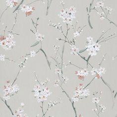 FIBERTAPET KWAI KWA203 | www.interiorkupp.no Textured Wallpaper, New Wallpaper, Wallpaper Roll, Photo Wallpaper, Screen Wallpaper, White Aesthetic, Pattern Paper, Floral Watercolor, Kyoto
