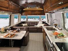 Classic Travel Trailer Decor and Interiors | Airstream
