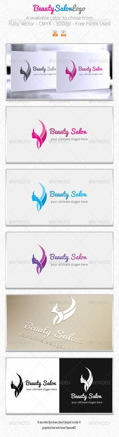 Beauty Salon LogoBeauty Salon is a best logo for many type of businesses, such as fashion, hairdresser, spa, saloon, natural products, shampoo, hair vitamin, beauty salons, gift shops, jewelers, florists and many others download this logo from - http://graphicriver.net/item/beauty-salon-logo/5820156?ref=kanon82
