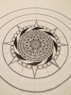 How to make a mandala pt.3