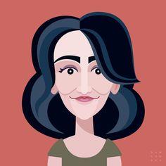 Comics of Comedy: Jenny Slate Art Print by DawsonXK9 | Society6