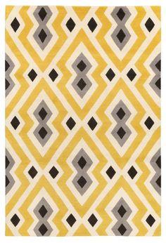 Syrie Yellow por Jonathan Adler para The Rug Company