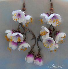 sweet sakura earrings