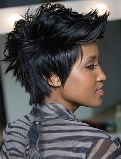 Image result for mohawk cut female