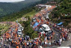 Tour de France in the Pyrenees