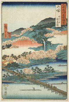 Japanese Art Prints, Japanese Artwork, Japanese Painting, Japon Illustration, Japanese Illustration, Japanese Woodcut, Art Japonais, Art Institute Of Chicago, Art Graphique