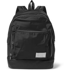 Marc by Marc Jacobs Ultimate Canvas Backpack ($200) ❤ liked on Polyvore featuring men's fashion, men's bags, men's backpacks, black and mens canvas backpack