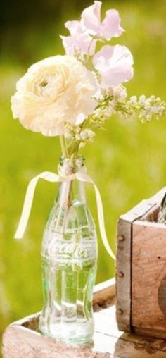 repurposed coke bottle