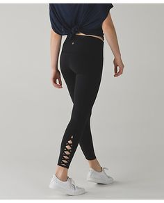 Lululemon Full length leggings BLACK and design
