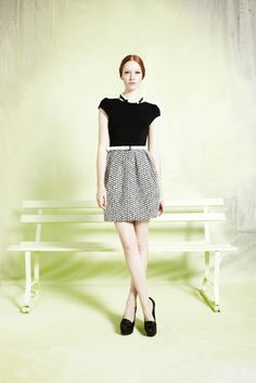 Alice   Olivia Resort 2013 Collection Runway Review on Cbamd.com