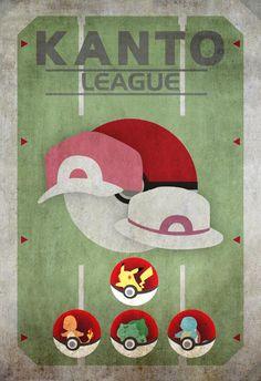 Kanto League - Pokemon