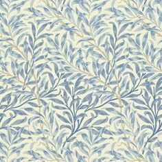 Willow Boughs by William Morris. The Original Morris & Co - Arts and crafts, fabrics and wallpaper designs by William Morris & Company William Morris Wallpaper, Morris Wallpapers, Blue Wallpapers, William Morris Tapet, Hd Backgrounds, Craftsman Wallpaper, Whatsapp Wallpaper, Painted Rug, Mugs
