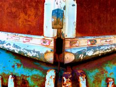 ford | Flickr - Photo Sharing! Peeling Paint, Rusty Metal, Inspirational Artwork, 50 Shades Of Grey, Panel Art, Color Shapes, Naturally Beautiful, Old Trucks, Rustic Design