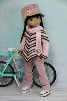 Hooded Coat and Leggings for Dolls. №228 Clothes for Barbie Doll