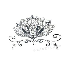 Temporal tatuaje Henna negro Mandala línea falso tatuaje conjunto hoja grande…