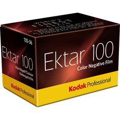Kodak Professional Ektar 100 Color Negative Film (35mm Roll, 36 Exp)