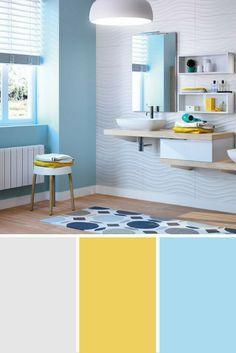 Quelle couleur pour la peinture de ma salle de bains | Déco sdb ...
