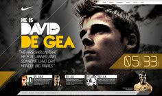 Nike Football - David De Gea Concept by Daniel Ng Weita, via Behance