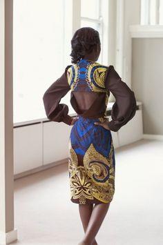 Love the back! Handmade in Africa. #handmade
