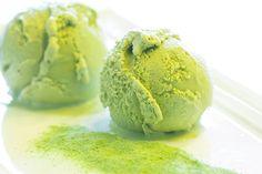 Helado de té verde con azahar E-S-P-E-C-T-A-C-U-L-A-R  @lamejornaranja