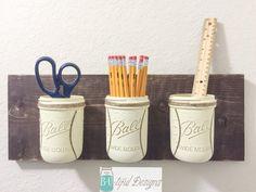 Baseball Mason Jars Wall Decor Bathroom by BUtifulDesigns on Etsy