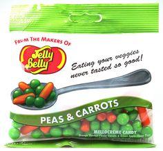 Jelly Belly Peas & Carrots by CandyBrain (DE), via Flickr