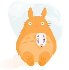 Sneaky Totoro.