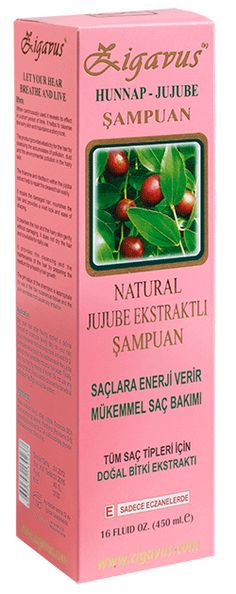 Zigavus Jujubeli Şampuan