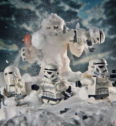 LEGO Minfigure Star Wars Hoth #lego #stormtroopers