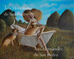 Pop Surrealism Print of original painting por AnaHernandezSanPedro, €60.00