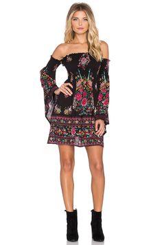 Flare Sleeve Off Shoulder Strapless Boho Dress - uniqistic.com/