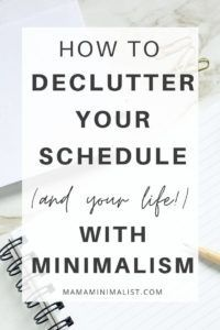 The symptoms of burnout include fatigue, hopelessness, and diminished motivation. And while Western cultures revere busyness, simplifying schedules and paring down To-Do Lists benefit our health, our happiness, and our sanity. On this episode of The Sustainable Minimalists podcast: how to identify (and prevent!)  burnout, declutter your schedule, and plan your days like a minimalist.