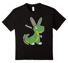 Kids Easter Day Bunny-saurus T-Shirt Gifts Kids Toddler Boys Girls