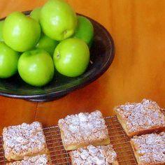 One Perfect Bite: Apple Crumb Squares