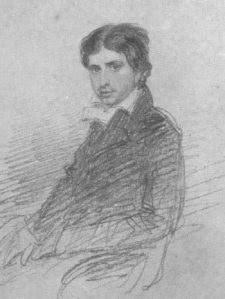 Leigh Hunt, a very good friend of Shelley. The reason Shelley was on that fatal last trip to see Lord B was over Leigh Hunt's situation. Byron was always a brute.