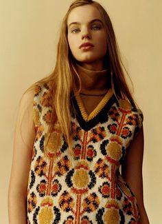 99303d43d7f7 Estella Boersma by Jamie Hawkesworth for Miu Miu Pre-Fall 2015. New Fashion