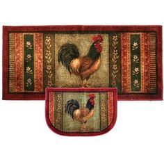 Mohawk Home Rooster Kitchen Rug - product summary - Bing Shopping