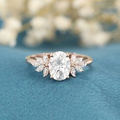Vintage Gold Engagement Rings, Dream Engagement Rings, Rose Gold Engagement Ring, Vintage Rings, Moissanite Engagement Rings, Custom Engagement Rings, Marquise Engagement Rings, Engagement Ring Styles, Engagement Ring Cuts