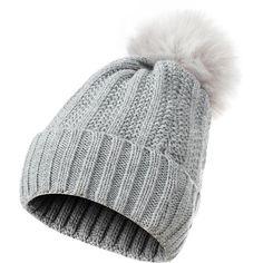 79825f67a988b GLOUE Women s Winter Beanie Warm Fleece Lining - Thick Slouchy Cable...  ( 9.59