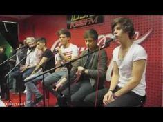 One Direction KISS FM Coca-Cola Lounge - Chicago-- closeups