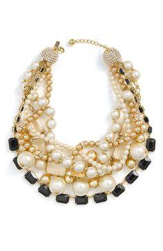 kate spade 'pearl street' torsade statement necklace