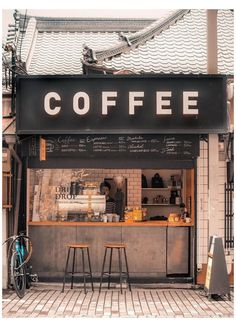 Cozy Coffee Shop, Small Coffee Shop, Best Coffee Shop, Cafe Shop Design, Coffee Shop Interior Design, Coffee Design, Small Cafe Design, Container Coffee Shop, Container Cafe